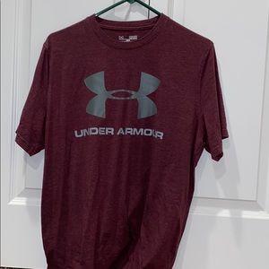 Burgundy Under Armour T-shirt